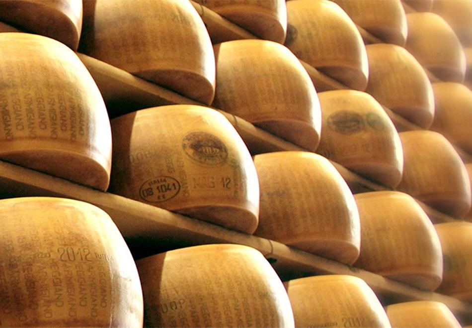 Agrinascente prodotti tipici Prosciutto Parmigiano Fidenza